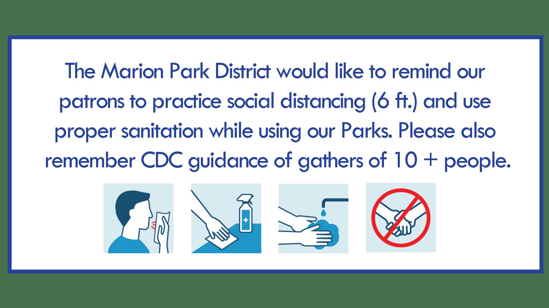 marion parks coronavirus